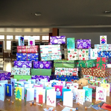 Christmas Shoeboxes- 2014